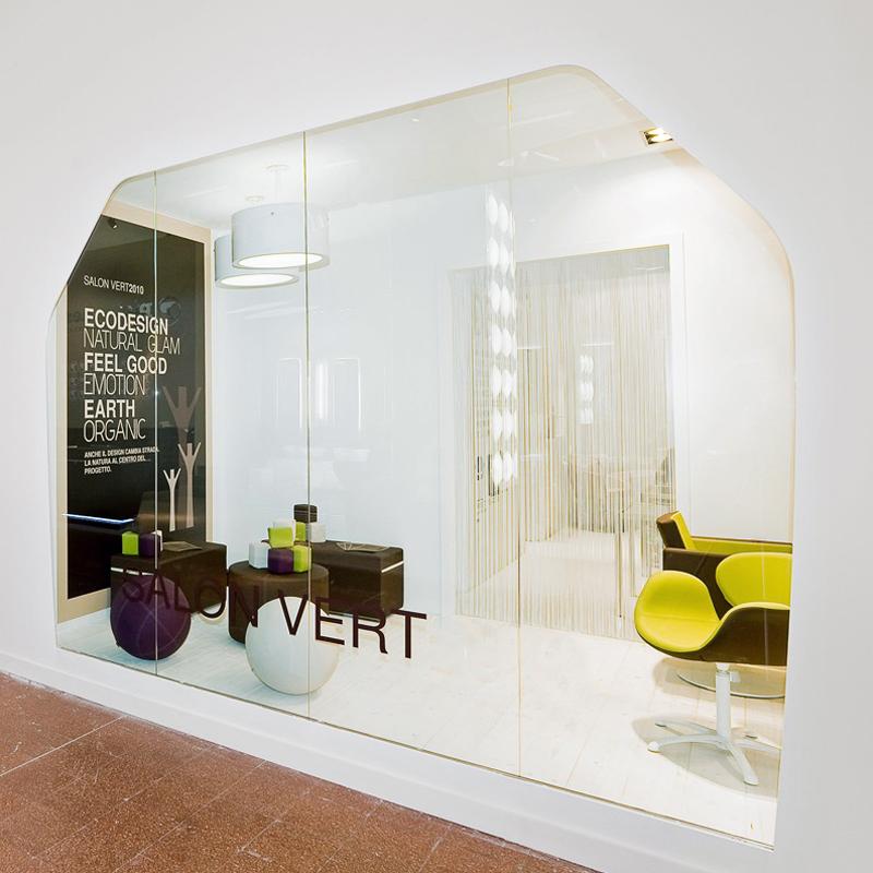 Il salone eco sostenibile ar design for Karisma arredamenti parrucchieri