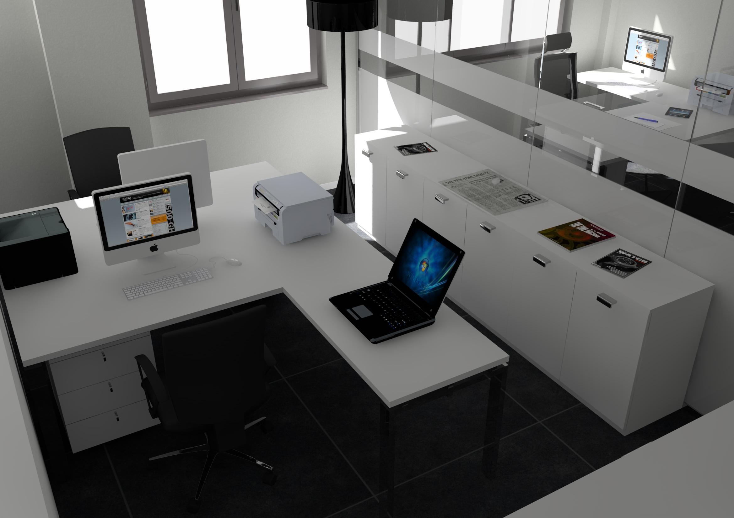 Progettare uffici progettare uffici significa anche for Progettare mobili